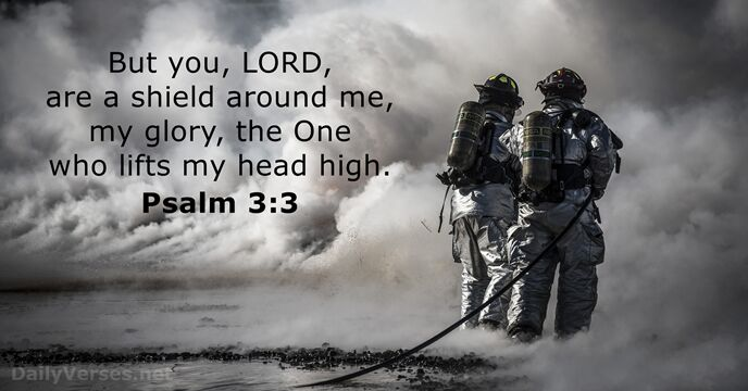 February 26, 2016 - Bible verse of the day - Psalm 3:3