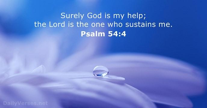 Psalm 54 - NIV & KJV - DailyVerses.net