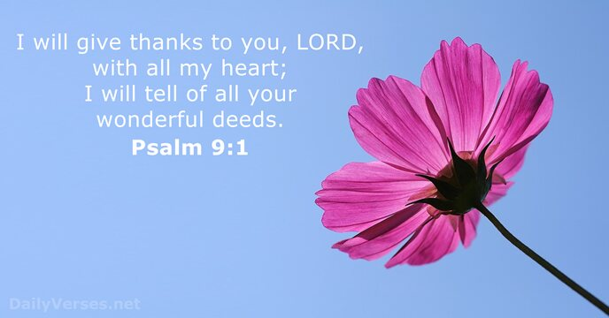 Get PDF Psalm 9 (Daily Bible Study – Psalms)