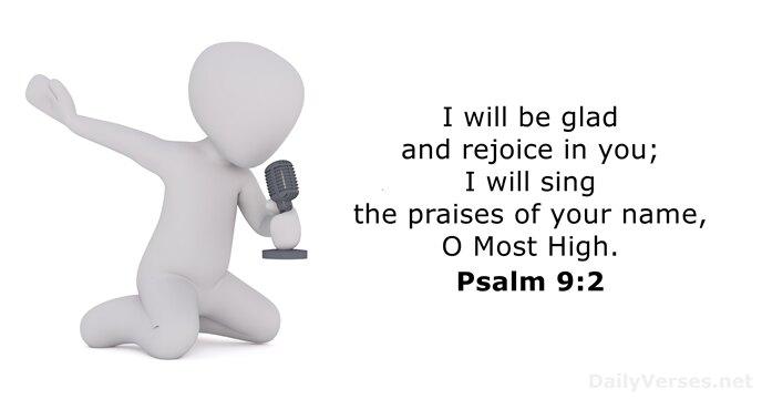 Psalms 9:2