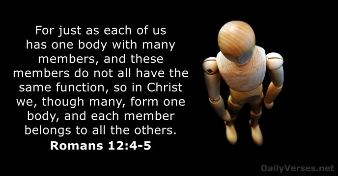 may 17 2018 bible verse of the day romans 12 4 5 dailyverses net