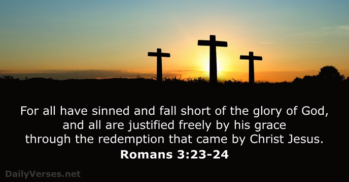 Image result for Romans 3:23 kjv