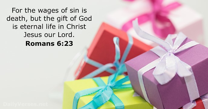 short summary romans chapter 6 verses 23 People have to obey sin, but the only result of these efforts is death (romans 6:23) but god made another law that would free people from the law of sin paul does not mean the written law, which told people the nature of sin.