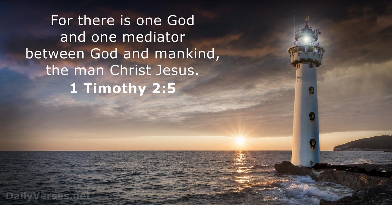 9 Bible Verses About The Mediator