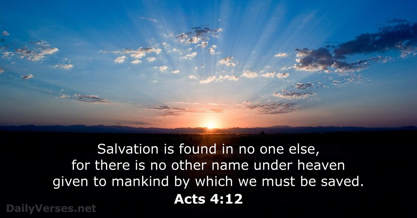 84 Bible Verses about Salvation - DailyVerses net