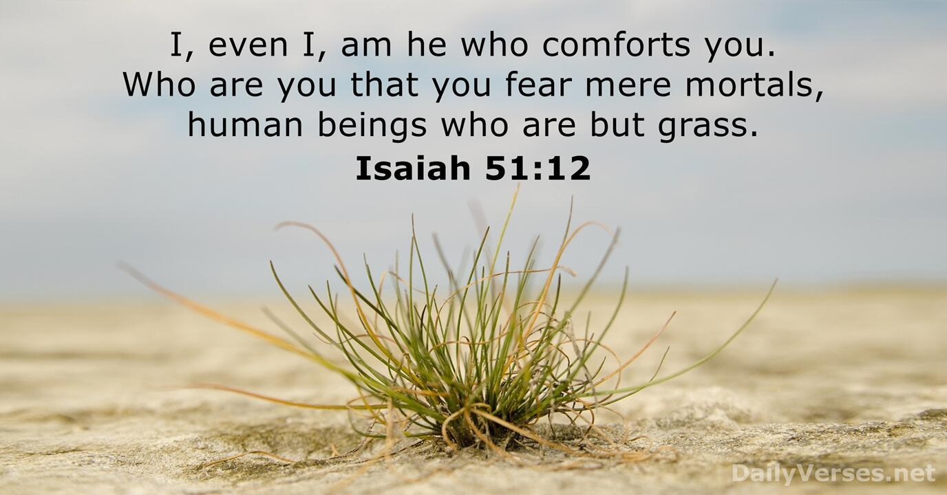 Isaiah 51 - DailyVerses.net