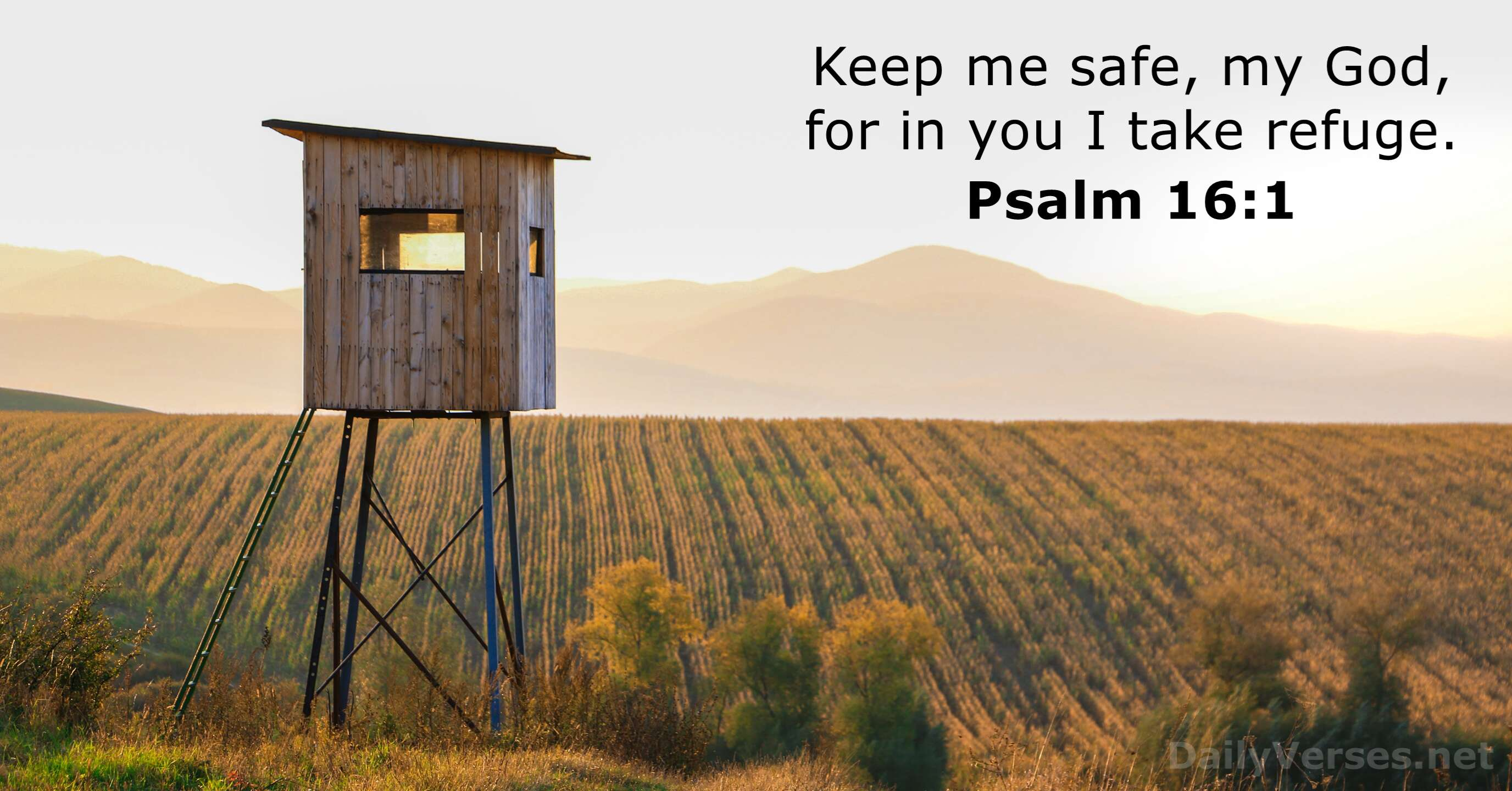February 17, 2020 - Bible verse of the day - Psalm 16:1 ...