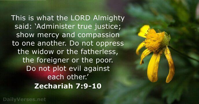 Kuvahaun tulos haulle Zechariah 7:10