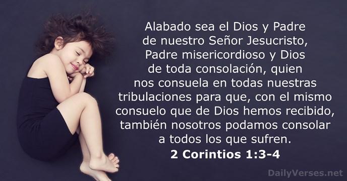 2 Corintios 1:3-4