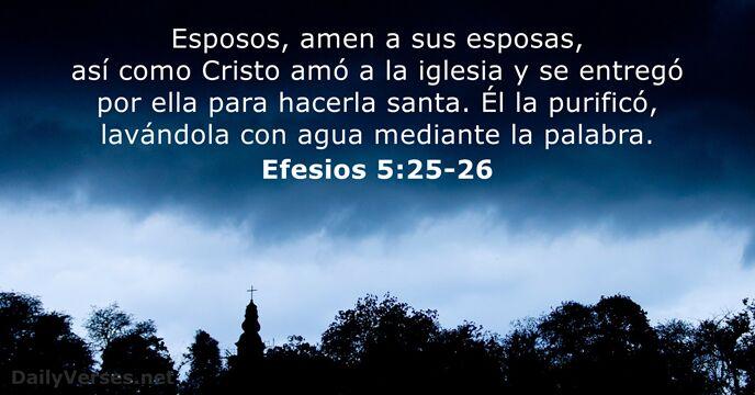 Matrimonio Segun La Biblia Reina Valera : Efesios  versículo de la biblia del día