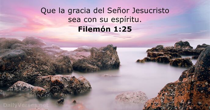Filemón 1:25
