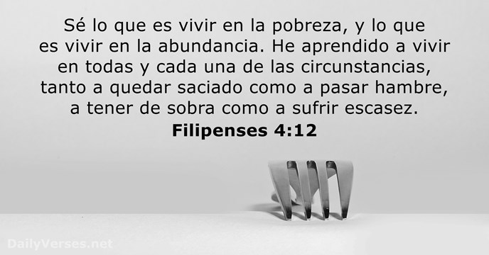 filipenses 4:12