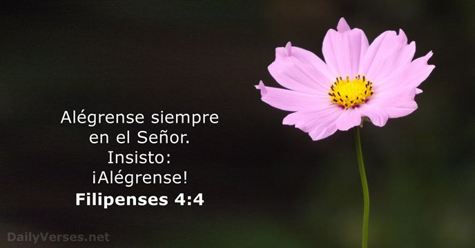 filipenses 4:4