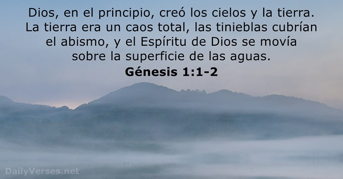 32 Versículos De La Biblia Sobre La Creación Nvi Rvr60 Dailyverses Net