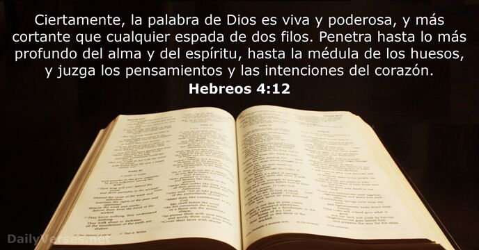52 Versículos De La Biblia Sobre La Palabra De Dios