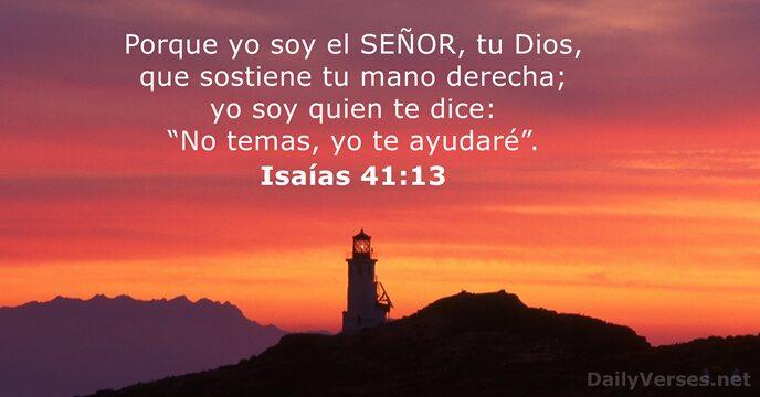 Isaías 41:13