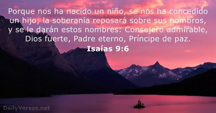 Isa 237 As 9 6 Vers 237 Culo De La Biblia Del D 237 A Dailyverses Net