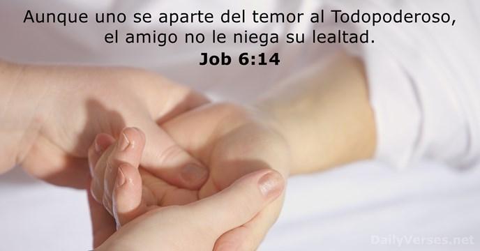 Job 614 Versículo De La Biblia Del Día Dailyversesnet