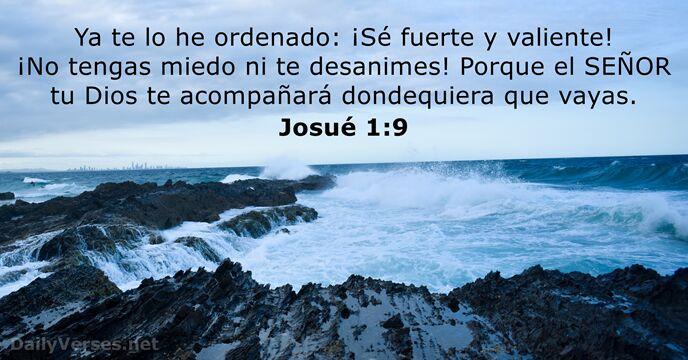 Josué 1 9 Versículo De La Biblia Del Día Dailyverses Net