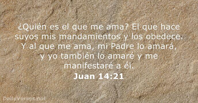 Resultado de imagen para Juan 14,21
