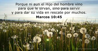marcos 10:45