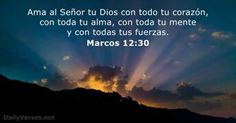 Marcos 12:30