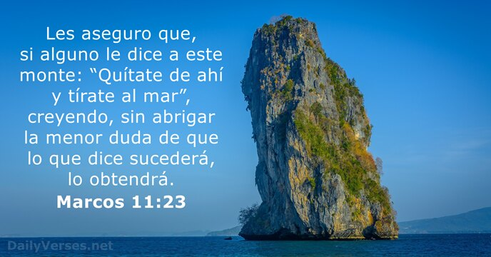 marcos 11:23