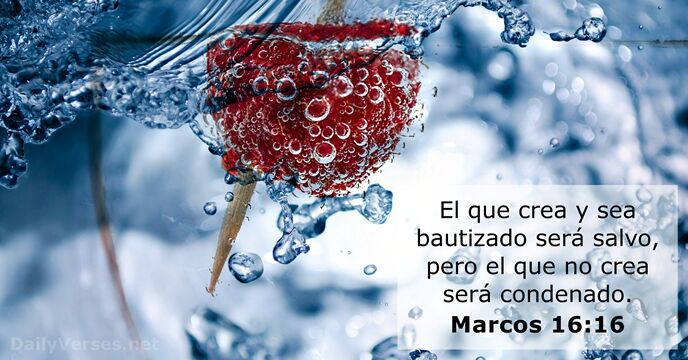 Marcos 16:16