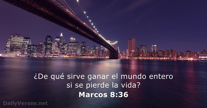 Marcos 8:36