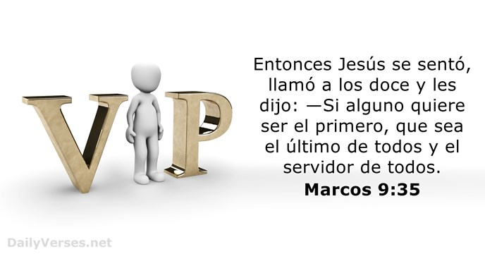 marcos 9:35