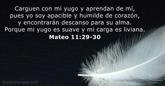 Resultado de imagen para Mateo 11:29