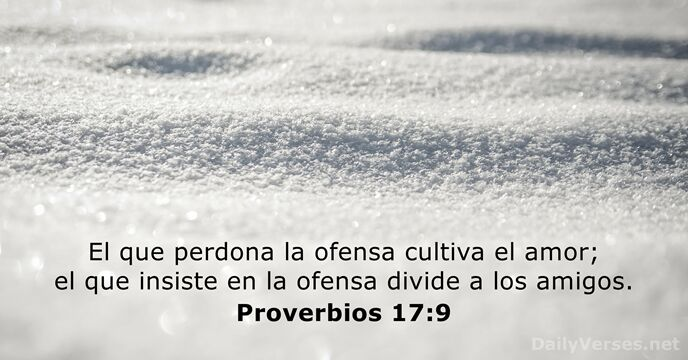 Proverbios 179 Versículo De La Biblia Del Día