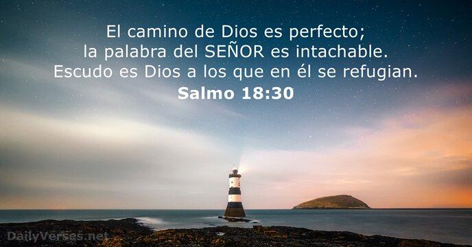 Salmos 1830 Versículo De La Biblia Del Día Dailyversesnet