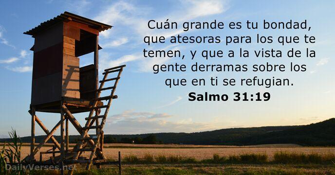 Salmos 31:19