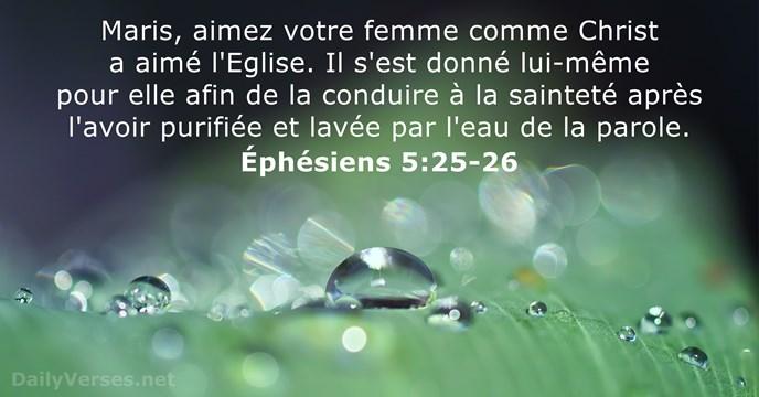 24 Versets Biblique sur l'Église - SG21 & NIV - DailyVerses.net