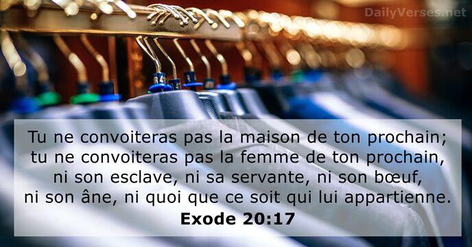 Exode 20:17