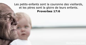 Proverbes 17:6