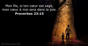 Proverbes 23:15