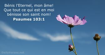Psaumes 103:1