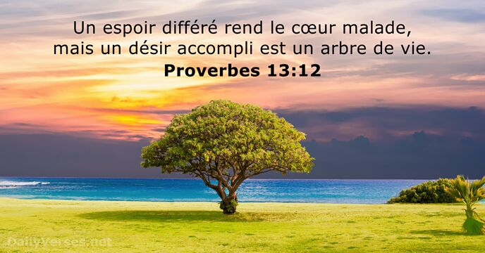 Proverbes 13:12