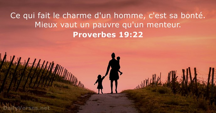 Proverbes 19:22