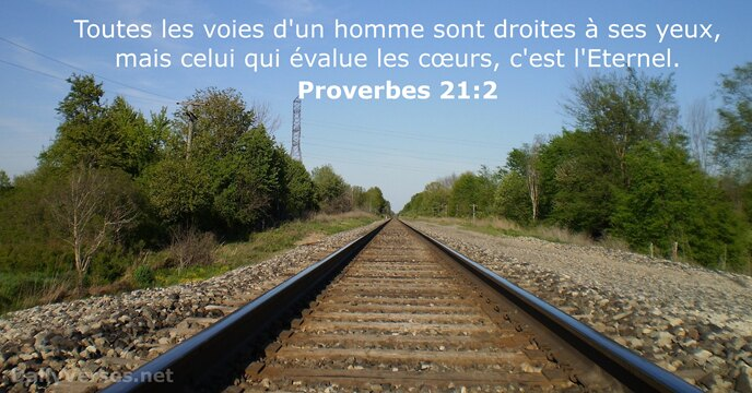 Proverbes 21:2