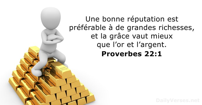 Proverbes 22:1