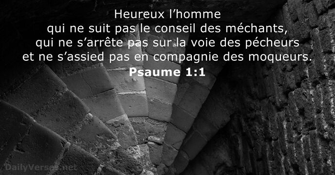 Psaumes 1:1