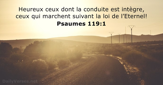 Psaumes 119:1