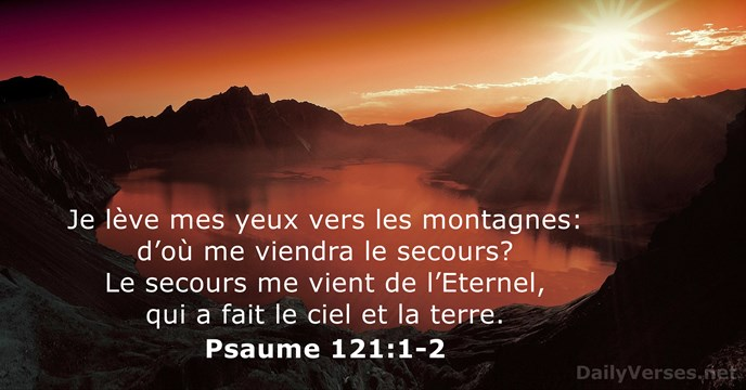 Psaume 121:1-2