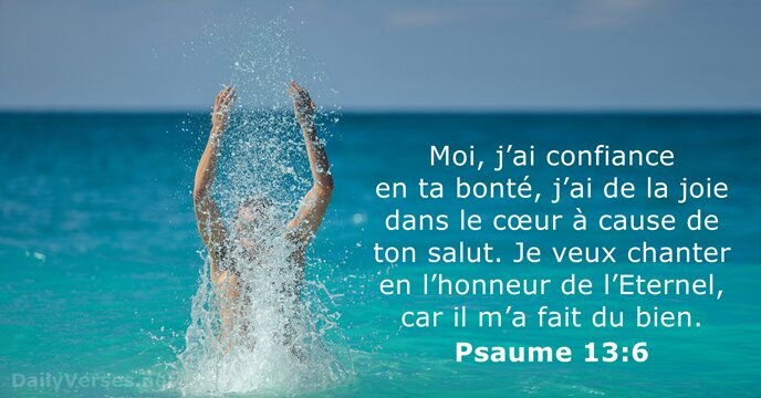 Psaumes 13:6