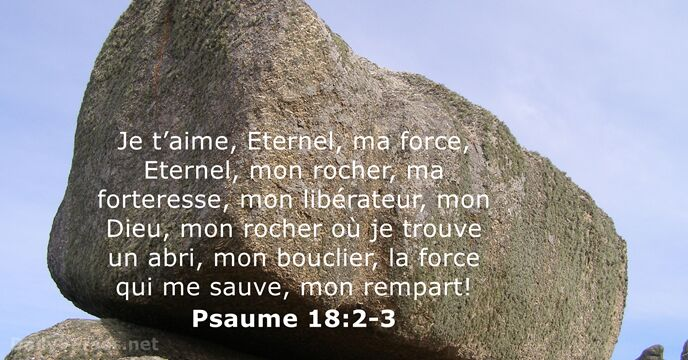 Psaumes 18:2-3