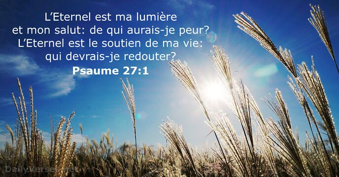Psaumes 27:1