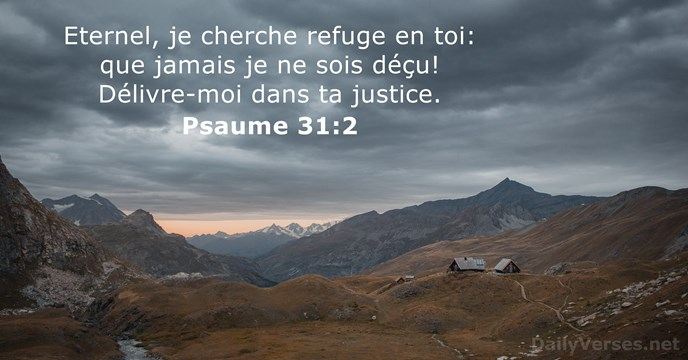 Psaume 31:2